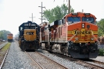 BNSF 7680, CSX 1500 & BNSF 5279